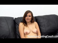 18 Teen Just Wants to Fuck on Casting Couch