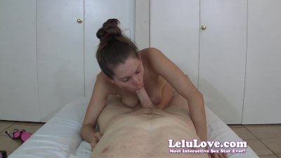 After long denial I suck and stroke you to hard cumshot
