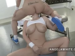 Busty Angela White and... video