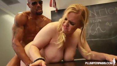 Busty School Girl Nikky Wilder Fucks Her First BBC