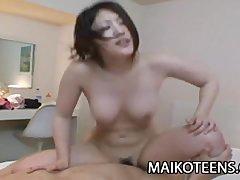 Ayaka Kimura   Busty Nippon Teen Like A Wild CowGirl