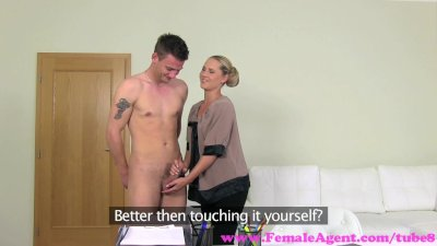 FemaleAgent. Unexpected casting fucks MILF agent beautifully