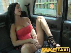 FakeTaxi Hot babe loves taxi cock