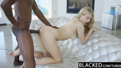 ebonyED Blonde Girlfriend Alli Rae Loves ebony Cock
