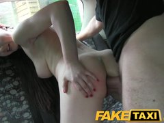 FakeTaxi Posh smart lady gets a good hard fuck