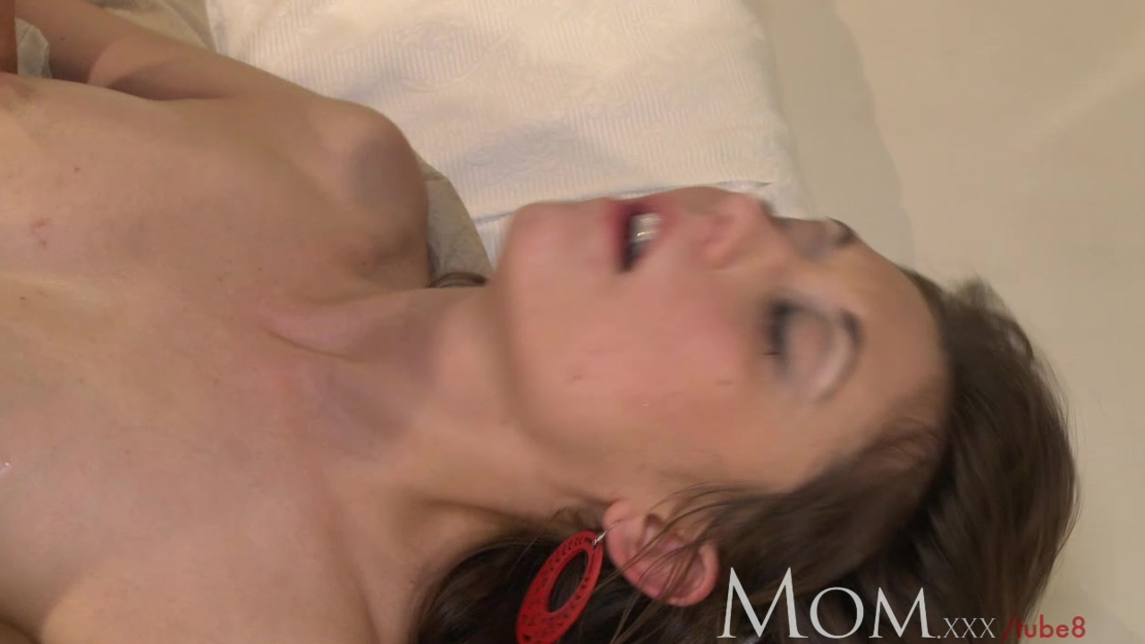 MOM Sexy brunette only wants to know she is not too old for you