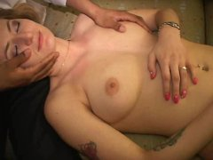 Little pregnant MILF licks Natasha s cunt Watches her squirt Longest upload