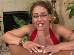 Eva Notty gets dicked down   swallows cum for the 1st time