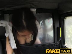 FakeTaxi Party girl gets fucked in xmas outfit