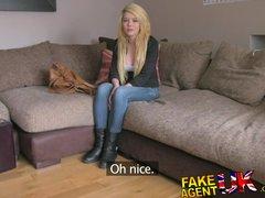 FakeAgentUK L A  Porn actress seeking hardcore action finds fake agent