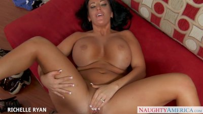 Busty Richelle Ryan suck and fuck cock in POV