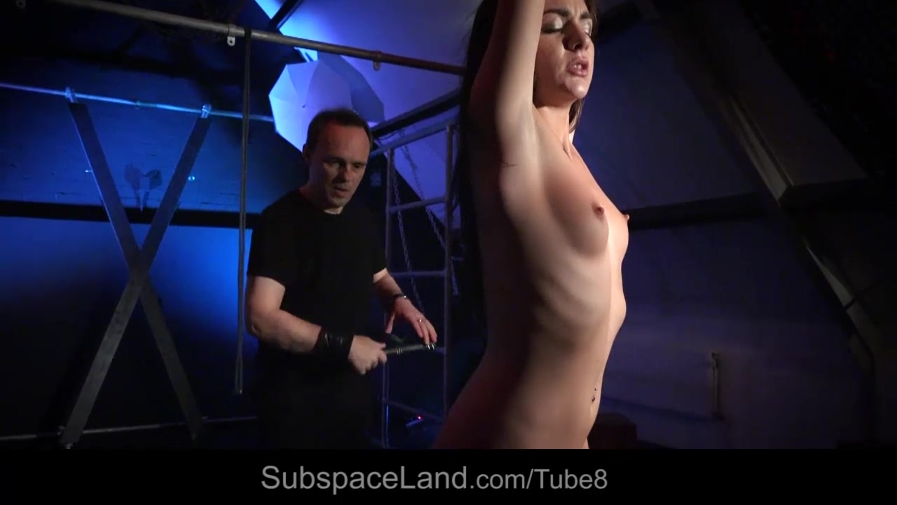 Elegant slave girl humiliation bdsm game