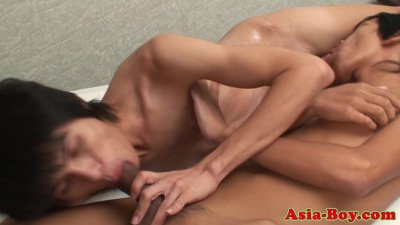 Ethnic filipino boys sixtynine and rim