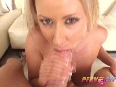 PervCity Carolyn Reese Wife Intense Blowjob