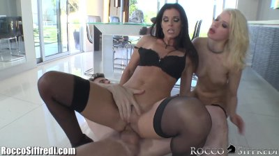 India Summer and Anikka Spermswap after Anal