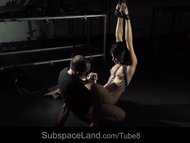 Beautiful slave girl squirting in submission