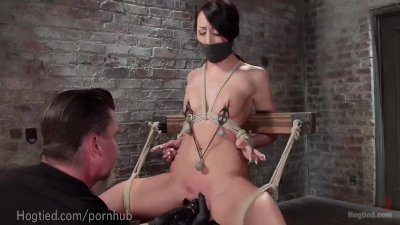 Hardcore Bondage For An Eager Slut
