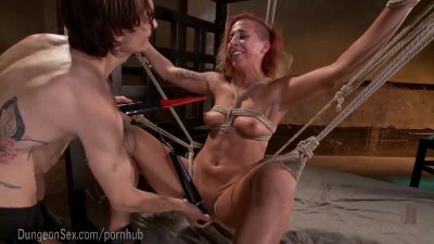 Hot Aggressive Bondage Fuck