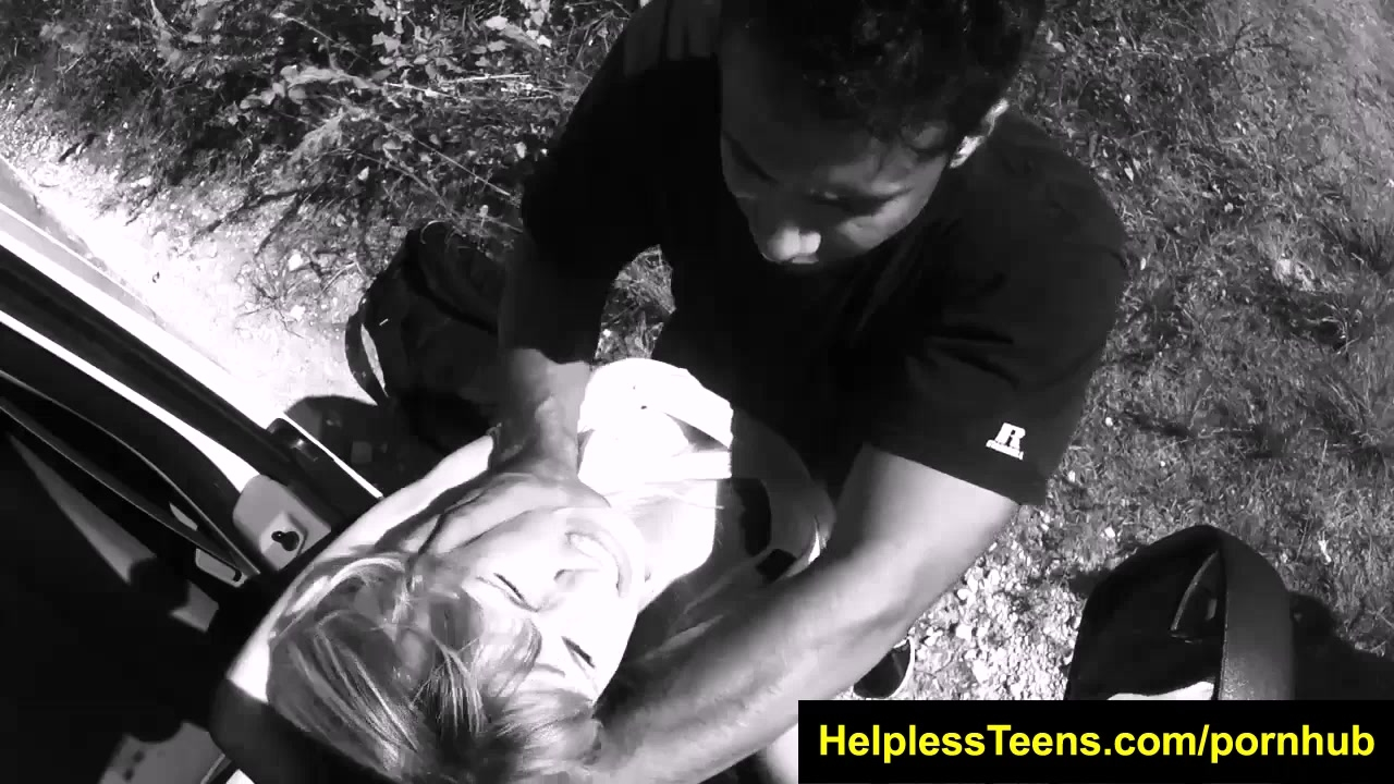 HelplessTeens Lily Dixon takes rough sex and outdoor bdsm for a ride