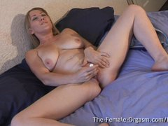 Big Pussy Lips  Sopping Wet Orgasm Contractions  Big Tits  and Hot MILF
