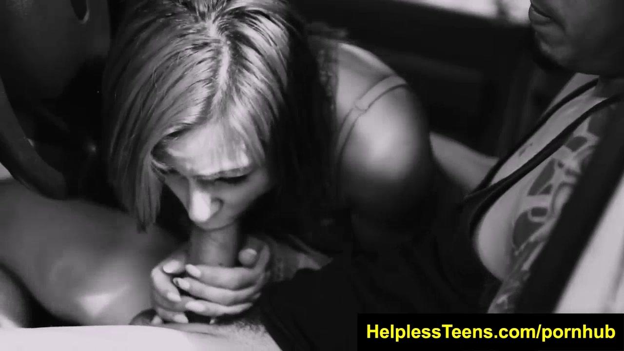 HelplessTeens.com Marina Angel hitch ride for bdsm and outdoor teen sex