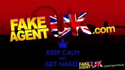 fakeagentuk face full of jizz for naive british amateur