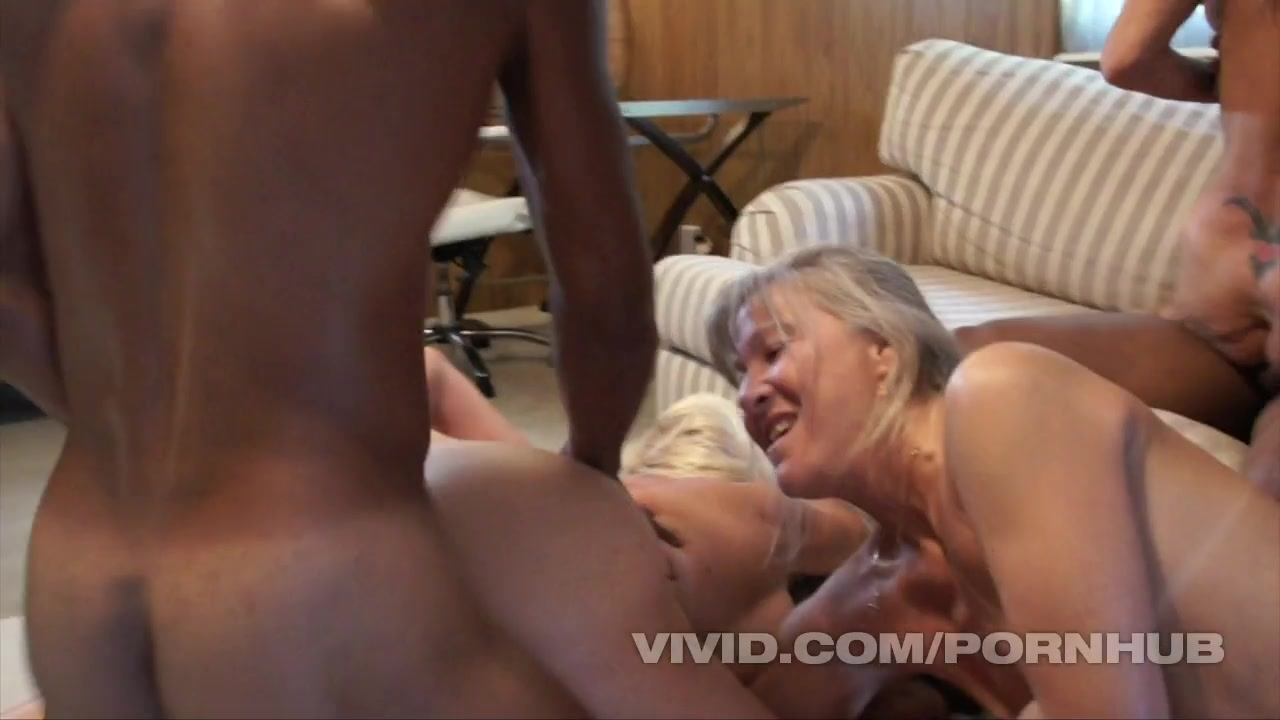 3 Grandmas Get Black Dick Deep Inside Them, Begging to Drink Their Cum