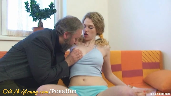 Teen fucked by older man