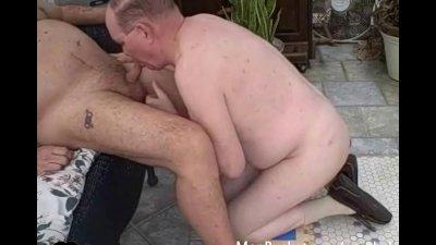 Real mature guys enjoy giving head