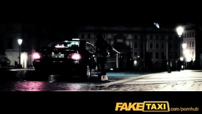 FakeTaxi Taxi driver gets lucky twice with super hot babe