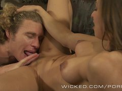 : Wicked   Hot couple fuck on the couch