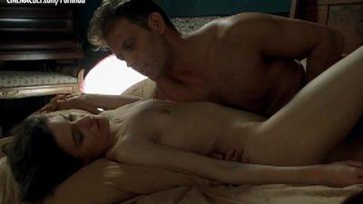 Caroline Ducey - Softcore scene from Romance with Rocco Siffredi