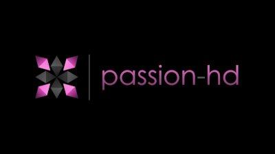 Passion-HD Brunette slut gets a necklace & facial
