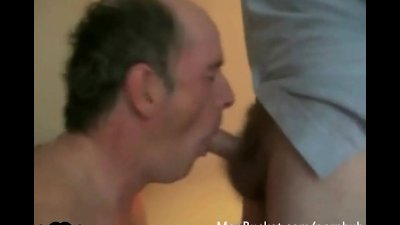 Real daddies love sucking the cock