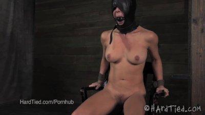 Cherie DeVille in a Nipple Torture Predicament