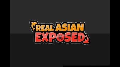 No Gag Reflex On This Asian Slut