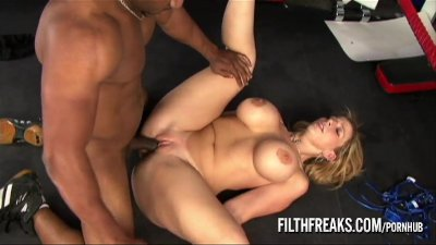 FilthFreaks - Sara Jay at the gym