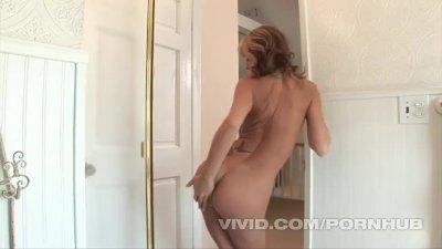Vivid Girl Kayden Kross gets some big wet dick in the shower