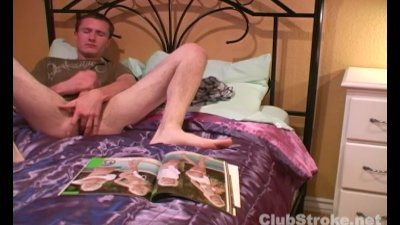 Brunette Straight Guy Mikey Masturbating