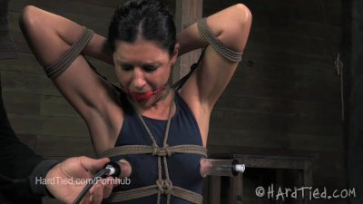 India Summer Nipples Suctioned in Bondage