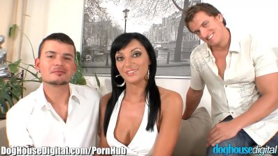EXCLUSIVE: DogHouse Bi Curious Couple has MMF Threesome