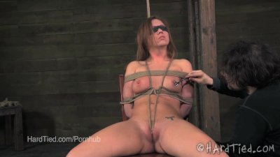 Maddy O'Reilly Teased while Blindfolded