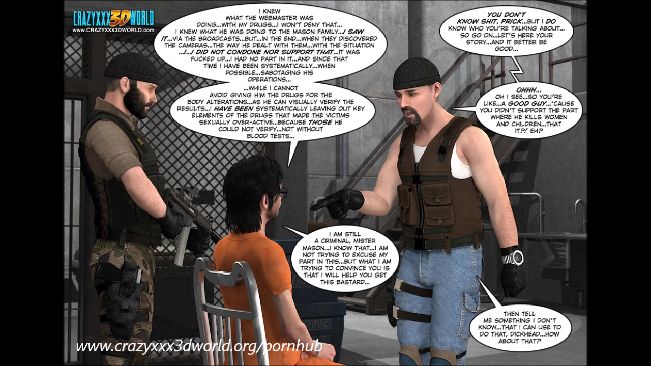 3D Comic: The Eyeland Project 26. The Perfect Storm. Part 2