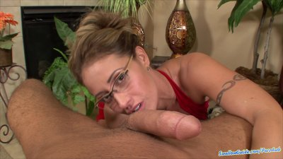 Eva Notty's very 1st swallowing scene