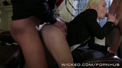 24 XXX: Jack Bauer's Daughter gets devirginized by 2 hard cocks!