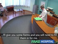 FakeHospital Doctors meat injection eases curvy patients back pain