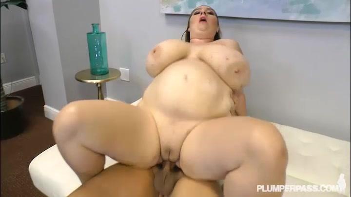 Big Tit Big Belly BBW MILF Gets Fucked By Stranger