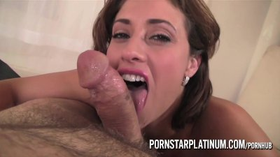 PornstarPlatinum – Eva Notty fingering and Blowjob
