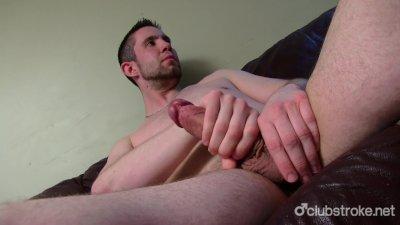 Sexy Straight Bentley Jerking Off His Prick