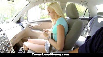 TeensLoveMoney - 500 Bucks To Smash Halle Von